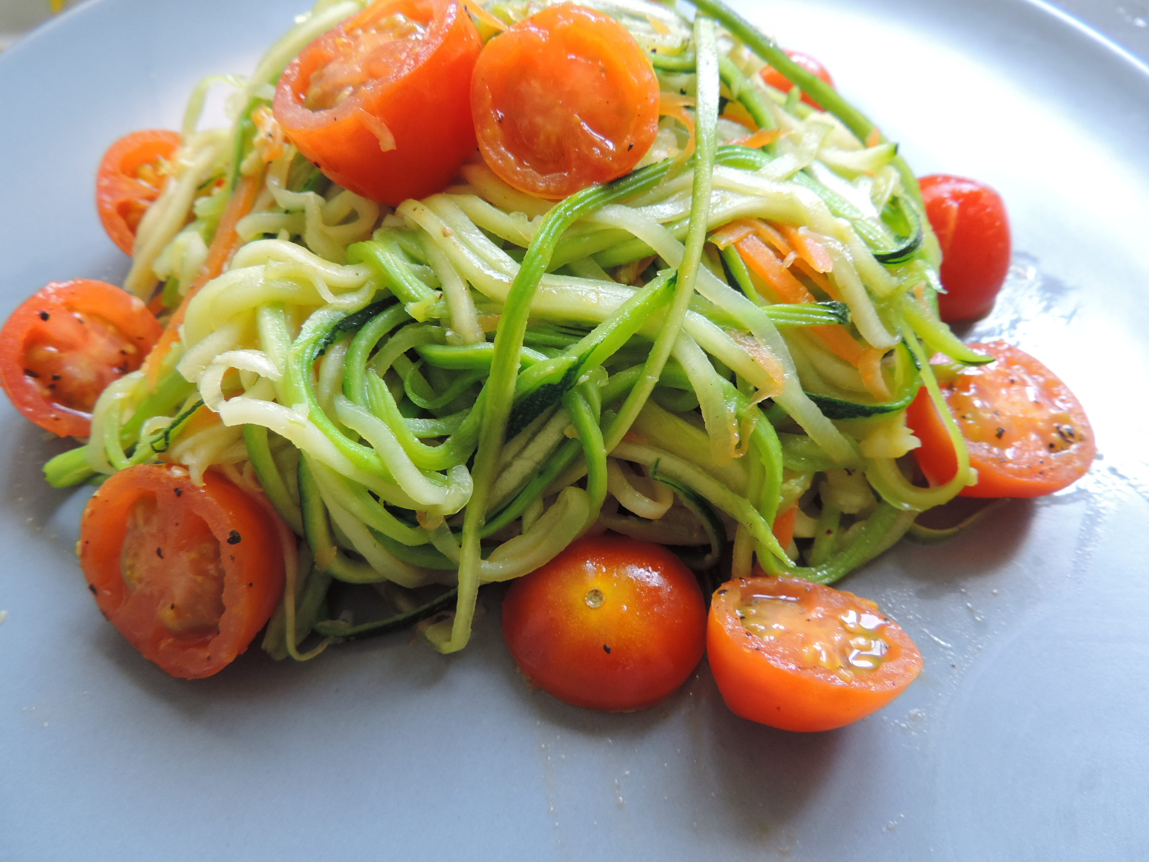 espaguettis de calabacin